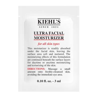 Ultra Facial Moisturizer Sample