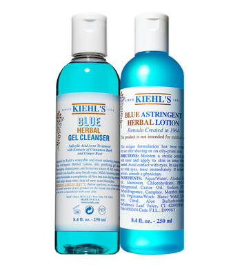 Blue Herbal Cleanser & Toner Duo