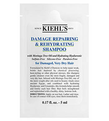 Damage Reparing & Rehydrating Shampoo Sample
