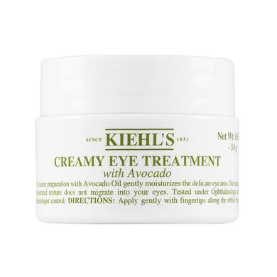 Creamy Eye Treatment with Avocado
