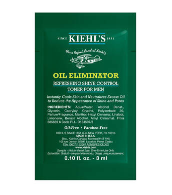 Men's Oil Eliminator Refreshing Shine Control Spray Toner Sample